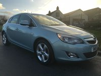 2010 VAUXHALL ASTRA 1.6 SRI 5 DOOR 48000 miles 2 owners last owner 4 years  £4495.00