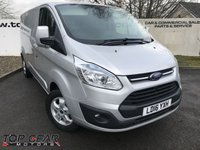 USED 2016 16 FORD TRANSIT CUSTOM 290 2.2 125 BHP LIMITED L2 H1 **70 VANS IN STOCK**
