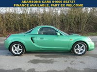 USED 2000 TOYOTA MR2 ROADSTER VVTI CONVERTIBLE