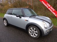 USED 2003 53 MINI HATCH COOPER 1.6 COOPER 3d 114 BHP All retail cars sold include -3 months warranty, HPI Certificate, 12 months AA breakdown cover, pre-delivery workshop inspection and a minimum 6 months Mot.