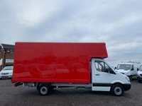 USED 2012 12 MERCEDES-BENZ SPRINTER 2.1 313 CDI LWB LUTON BOX  RARE 15FT BOX,ONE OWNER,BLUETOOTH,CRUISE,ROLLER SHUTTER