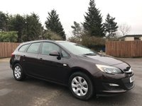 USED 2015 15 VAUXHALL ASTRA 1.6 CDTI DESIGN ECOFLEX ESTATE S/S 5d 108 BHP WITH ONE OWNER FROM NEW NO DEPOSIT ECP/HP FINANCE ARRANGED, APPLY HERE NOW