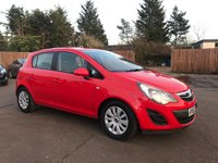 USED 2013 63 VAUXHALL CORSA 1.3 CDTI EXCLUSIV AC ECOFLEX S/S 5d ONE OWNER FROM NEW WITH HISTORY NO DEPOSIT ECP/PCP/HP FINANCE ARRANGED, APPLY HERE NOW