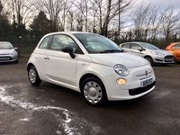 USED 2015 15 FIAT 500 1.2 POP 3d  ONE LADY OWNER FROM NEW NO DEPOSIT  PCP/HP FINANCE ARRANGED, APPLY HERE NOW