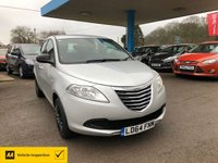 USED 2014 64 CHRYSLER YPSILON 1.2 SILVER 5d 69 BHP NEED FINANCE? WE CAN HELP!