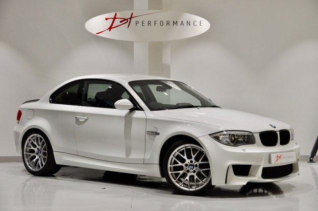 2011 11 BMW 1 SERIES 3.0 M 2d 340 BHP PRO NAVIGATION + £4K OPTIONS