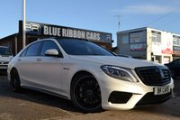 USED 2014 14 MERCEDES-BENZ S CLASS 5.5 S63 AMG L EXECUTIVE 4d AUTO 585 BHP FULLY LOADED, EVERY OPTION,