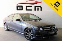 2012 MERCEDES-BENZ C CLASS 2.1 C220 CDI BLUEEFFICIENCY AMG SPORT 2d AUTO 170 BHP £7985.00