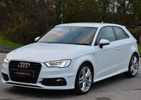 USED 2014 14 AUDI A3 2.0 TDI S LINE 3d 148 BHP ***PREVIOUSLY SOLD BY OURSELVES*** ***PCP FINANCE AVAILABLE***