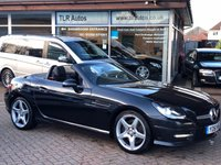 2011 MERCEDES-BENZ SLK  SLK250 1.8 BLUEEFFICIENCY AMG SPORT ED125 2d AUTO 204 BHP £11990.00