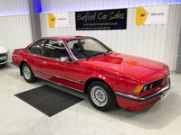 USED 1985 C BMW 6 SERIES 2.8 628CSI 2d AUTO 184 BHP BRILLIANT INVESTMENT EXAMPLE!