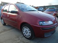 2001 FIAT PUNTO 1.2 ELX 16V SPEEDGEAR AUTOMATIC PX TO CLEAR £695.00