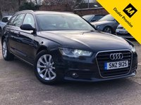 USED 2013 AUDI A6 AVANT 2.0 TDI SE 5dr 1 Former keeper, Full service history, Cambelt and clutch changed.