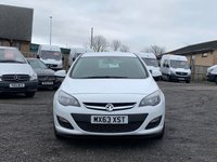 USED 2013 63 VAUXHALL ASTRA 1.3 ES CDTI 5d ECOFLEX AC AC, COMPANY OWNED, FDSH, £20 ROAD TAX, BLUETOOTH,CRUISE