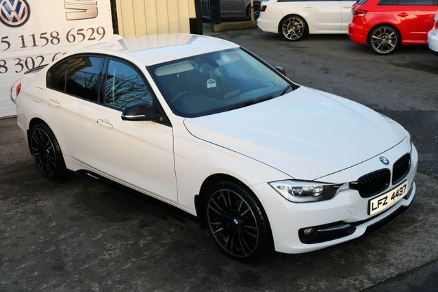 2012 BMW 3 SERIES 318D SPORT M PERFORMANCE KIT 141 BHP (FINANCE & WARRANTY)