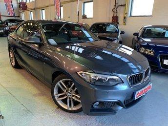 2014 BMW 2 SERIES 2.0 220D M SPORT 2d 181 BHP £16495.00