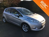 USED 2012 12 FORD FIESTA 1.4 ZETEC 16V 5d AUTO 96 BHP Petrol Automatic, 5 Door, Alloy Wheels