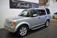 USED 2008 08 LAND ROVER DISCOVERY 3 2.7 3 TDV6 HSE 5d AUTO 188 BHP SERVICE HISTORY TO 97K INCL CAMBELTS - TOP HSE SPEC - LEATHER - NAV - SIDE STEPS - PRIVACY - TOWBAR
