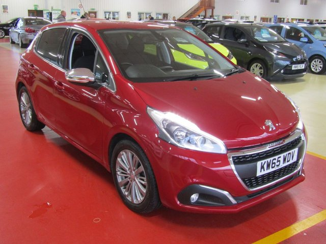 View our 2016 65 PEUGEOT 208 1.2 ALLURE 5d 82 BHP