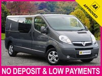 USED 2014 63 VAUXHALL VIVARO 2.0 CDTI SPORTIVE LWB 6 SEAT COMBI VAN L2H1 2900 6 SEATS LONG WHEEL BASE CRUISE AIR CONDITIONING
