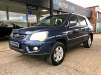 USED 2009 59 KIA SPORTAGE 2.0 XS CRDI 5d AUTO 138 BHP Leather, FSH, 2 keys