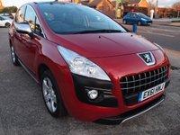 2011 PEUGEOT 3008 1.6 EXCLUSIVE E-HDI FAP 5d AUTO 112 BHP £6995.00