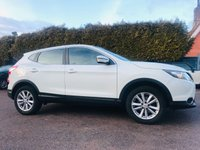 USED 2016 16 NISSAN QASHQAI 1.2 DIG-T ACENTA SMART VISION 5d ONE PRIVATE OWNER FROM NEW  NO DEPOSIT  PCP/HP FINANCE ARRANGED, APPLY HERE NOW