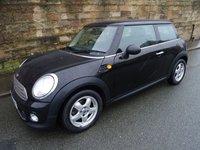 2010 MINI HATCH ONE 1.6 ONE D 3d 90 BHP £3650.00