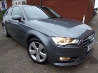 2015 AUDI A3 1.2 TFSI SPORT 3d 109 BHP Extra Spec Vehicle £11299.00