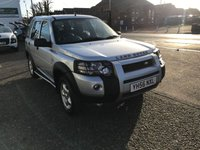 2006 LAND ROVER FREELANDER 2.0 TD4 ADVENTURER 5d AUTO 110 BHP £SOLD