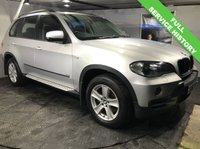 USED 2007 57 BMW X5 3.0 D SE 5STR 5d 232 BHP Side-steps/Running boards  :  Split Tailgate  :  Cloth upholstery    :    Front + rear parking sensors   :   Fully stamped service history