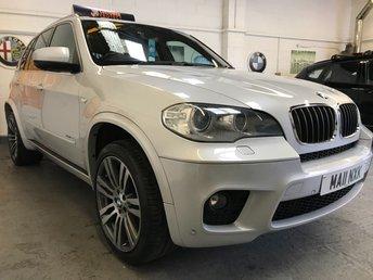2011 BMW X5 3.0 XDRIVE30D M SPORT 5d AUTO 241 BHP £17990.00