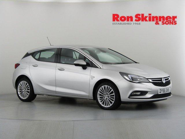 View our 2016 66 VAUXHALL ASTRA 1.4 ELITE 5d 148 BHP