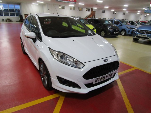 View our 2016 66 FORD FIESTA 1.0 ST-LINE 5d 139 BHP
