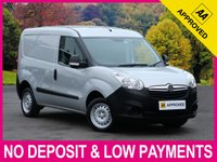 USED 2014 14 VAUXHALL COMBO 1.3 CDTI ecoFLEX 2000 L1H1 PANEL VAN SIDE SLIDING DOOR PLY LINED PARKING SENSORS A/C