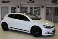 USED 2016 66 VOLKSWAGEN SCIROCCO 2.0 GT BLACK EDITION TDI BMT 2d 150 BHP 1 Owner Full Service History FINISHED IN STUNNING WHITE WITH HALF LEATHER SPORT SEATS + FULL SERVICE HISTORY + SATELLITE NAVIGATION + £20 ROAD TAX + BLUETOOTH + 18 INCH ALLOYS + 1 OWNER + PARKING SENSORS + DAB RADIO + PRIVACY GLASS...