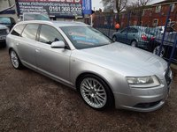 USED 2005 55 AUDI A6 3.0 TDI QUATTRO S LINE 5d AUTO 221 BHP BLACK LEATHER INTERIOR, BOSE SOUND, HEATED SEATS, F.S.H, SAT NAV