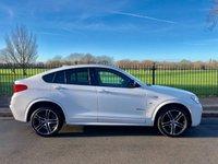 2017 BMW X4 2.0 XDRIVE20D M SPORT 4d AUTO 188 BHP £27995.00