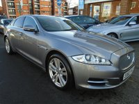 USED 2013 63 JAGUAR XJ 3.0 D V6 PREMIUM LUXURY 4d AUTO 275 BHP PAN ROOF, HEATED/COOLED SEATS