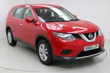 "USED 2016 65 NISSAN X-TRAIL 1.6 DCI VISIA 5d 7 Seater 130 BHP Finished in stunning Red Metallic with Black Suede Interior, 17"" Alloy Wheels, 1 Owner and Service History.  Bluetooth, Cruise Control, Multi Function Wheel, Climate Control, Air Con."