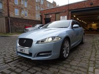 USED 2013 13 JAGUAR XF 2.2 D SPORT SPORTBRAKE 5d AUTO 200 BHP (High Factory Specification)