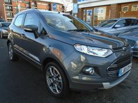 USED 2015 65 FORD ECOSPORT 1.5 TITANIUM TDCI 5d 94 BHP 1 OWNER, ONLY 11,000 MILES