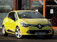 USED 2014 64 RENAULT CLIO 1.5 Dynamique MediaNav Energy 5dr ** Sat Nav + Bluetooth **