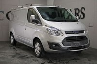 USED 2015 65 FORD TRANSIT CUSTOM 2.2 290 LIMITED LR P/V 1d 124 BHP Fully Ply Lined Rear Load Area, Heated Rear Seats, Bluetooth Connectivity, Front and Rear Park Distance Control, Air Conditioning, Rhino Roof Bars, 16 Inch Alloy Wheels, Leather Multi Function Steering Wheel, On-board Computer, Cruise Control