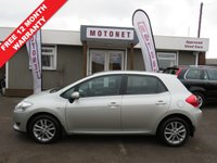 2009 TOYOTA AURIS 1.6 TR VALVEMATIC MM 5DR AUTOMATIC 131 BHP £4180.00