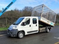 2009 FIAT DUCATO 2.3 35 120 BHP DOUBLE CAB LWB CAGED TIPPER £5995.00