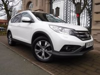 USED 2013 63 HONDA CR-V 2.0 I-VTEC SR 5d AUTO 153 BHP 4X4 FINANCE ARRANGED***PART EXCHANGE WELCOME***1 OWNER FROM NEW***4WD***CRUISE***REVERSING CAMERA***BLUETOOTH***