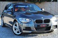 2015 BMW 1 SERIES 2.0 120D M SPORT 5d 181 BHP £13995.00