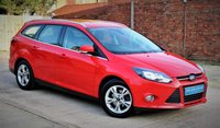 USED 2013 13 FORD FOCUS 1.6 ZETEC 5d AUTO 124 BHP **** LOW MILEAGE AUTOMATIC ESTATE WITH FULL SERVICE HISTORY ****