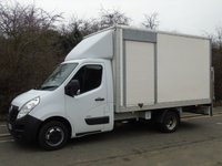 2013 VAUXHALL MOVANO 2.3 R3500 124 BHP TWIN WHEEL 13FT BOX VAN WITH TAILLIFT (SIDE ACCESS) £7750.00